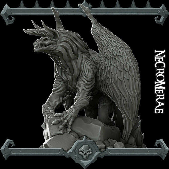 Necromera - Necromerae Wargaming Miniatures Monster Rocket Pig Games D&D, DnD, Pathfinder, SW Legion, Warhammer