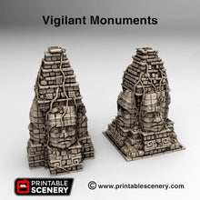 Load image into Gallery viewer, Vigilant Monuments - 15mm 28mm 32mm Brave New Worlds New Eden Terrain Scatter D&D DnD Pathfinder Warhammer 40k