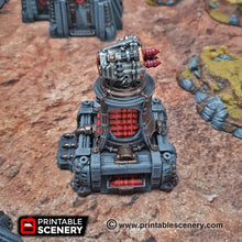 Load image into Gallery viewer, Sithic Outpost Deluxe Set - 28mm 32mm Brave New Worlds Sithic Outpost Terrain Scatter D&D DnD Pathfinder Warhammer 40k
