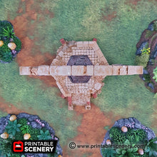 Load image into Gallery viewer, Sacred Dais - 15mm 28mm 32mm Brave New Worlds New Eden Terrain Scatter D&D DnD Pathfinder Warhammer 40k