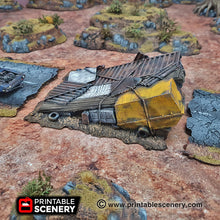 Load image into Gallery viewer, Junk Jumps - 15mm,  20mm, 28mm, 32mm, Terrain Scatter, Brave New Worlds, Wasteworld, Gaslands, Dread Race, D&D, Pathfinder, Warhammer, 40k