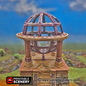 Singularity Engine in Ruins - 15mm 28mm 32mm Brave New Worlds New Eden Wargaming Terrain D&D DnD Pathfinder Warhammer 40k