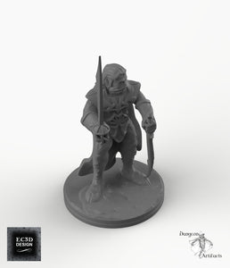 Dark Elf Weapon Master - EC3D Skyless Realms Wargaming Miniatures D&D DnD Pathfinder Drow PC Warhammer