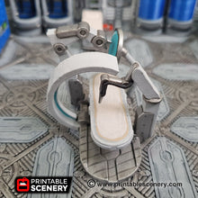 Load image into Gallery viewer, Sci-fi Hospital Beds - 28mm 32mm Brave New Worlds Sanctuary 17 Terrain Scatter D&D DnD Pathfinder Biobed Sick Bay