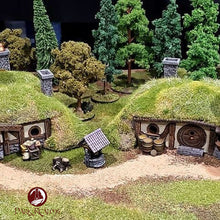 Load image into Gallery viewer, Halfling House 2 - 15mm 28mm Dark Realms Wargaming Terrain Scatter D&D DnD Pathfinder Warhammer 40k