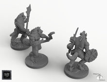 Load image into Gallery viewer, Gnolls - EC3D Skyless Realms Wargaming Miniatures D&D DnD Pathfinder Warhammer 40k