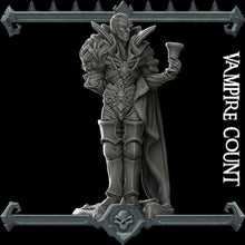 Load image into Gallery viewer, Vampire Count - Wargaming Miniatures Monster Rocket Pig Games D&D, DnD, Pathfinder, SW Legion, Warhammer