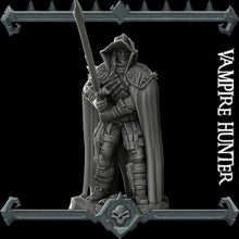 Load image into Gallery viewer, Vampire Hunter - Wargaming Miniatures Monster Rocket Pig Games D&D, DnD, Pathfinder, SW Legion, Warhammer
