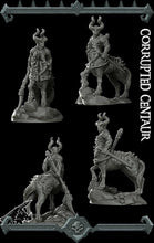 Load image into Gallery viewer, Corrupted Centaur - Wargaming Miniatures Monster Rocket Pig Games D&D, DnD, Pathfinder, SW Legion, Warhammer