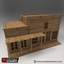 Load image into Gallery viewer, General Store - 15mm 28mm 32mm Time Warp Wargaming Terrain Scatter Western D&D, DnD, Pathfinder, Warhammer, 40k