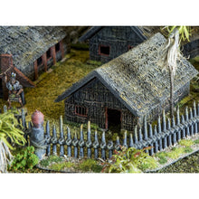 Load image into Gallery viewer, Maori Pa Huts - 15mm 28mm 32mm Time Warp Wargaming Terrain Scatter D&D, DnD, Pathfinder, Warhammer, 40k