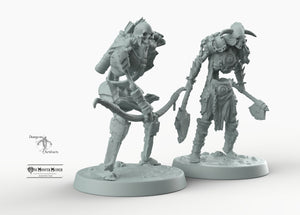 Skeleton Soldiers - Skeletal Soldiers Mini Monster Mayhem Wargaming Miniatures Games D&D, DnD, Pathfinder, SW Legion, Warhammer