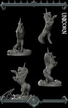 Load image into Gallery viewer, Unicorn - Wargaming Miniatures Monster Rocket Pig Games D&D, DnD, Pathfinder, SW Legion, Warhammer