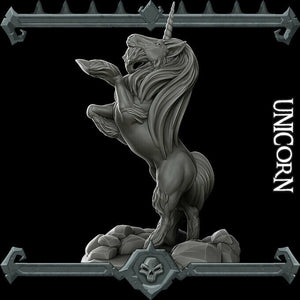 Unicorn - Wargaming Miniatures Monster Rocket Pig Games D&D, DnD, Pathfinder, SW Legion, Warhammer
