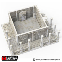 Load image into Gallery viewer, Bank - 15mm 28mm 32mm Time Warp Wargaming Terrain Scatter Western D&D, DnD, Pathfinder, Warhammer, 40k