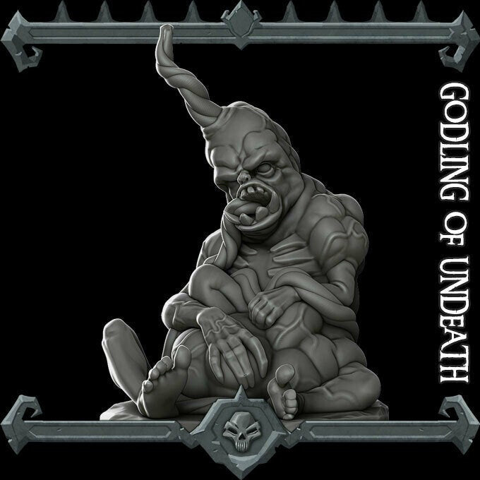 Godling of Undeath - Wargaming Miniatures Monster Rocket Pig Games D&D, DnD, Pathfinder, SW Legion, Warhammer