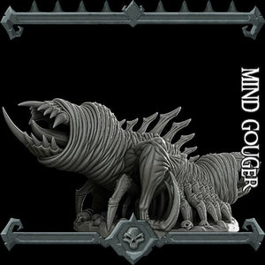 Mind Gouger - Wargaming Miniatures Monster Rocket Pig Games D&D, DnD, Pathfinder, SW Legion, Warhammer