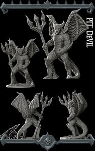 Pit Devil - Wargaming Miniatures Monster Rocket Pig Games D&D, DnD, Pathfinder, SW Legion, Warhammer