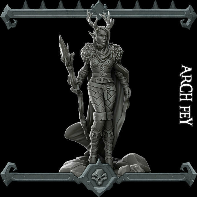 Arch Fey - Wargaming Miniatures Monster Rocket Pig Games D&D, DnD, Pathfinder, SW Legion, Warhammer