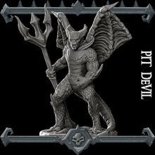Load image into Gallery viewer, Pit Devil - Wargaming Miniatures Monster Rocket Pig Games D&D, DnD, Pathfinder, SW Legion, Warhammer