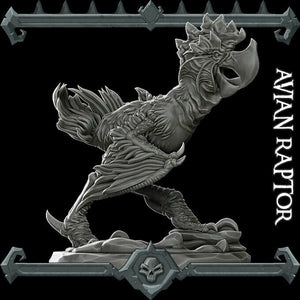 Avian Raptor - Wargaming Miniatures Monster Rocket Pig Games D&D, DnD, Pathfinder, SW Legion, Warhammer