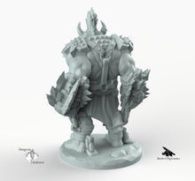 Load image into Gallery viewer, Orc Gladiator - Miniatures Monster Rocket Pig Games D&D, DnD, Pathfinder, SW Legion, Warhammer