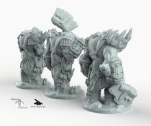 Load image into Gallery viewer, Orc Grunts - Miniatures Monster Rocket Pig Games D&D, DnD, Pathfinder, SW Legion, Warhammer