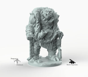 Orc Tracker - Miniatures Monster Rocket Pig Games D&D, DnD, Pathfinder, SW Legion, Warhammer