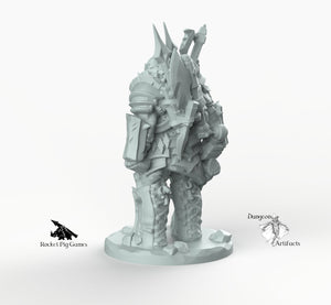 Orc Weaponsmaster - Weaponmaster Weapon Master Miniatures Monster Rocket Pig Games D&D, DnD, Pathfinder, SW Legion, Warhammer