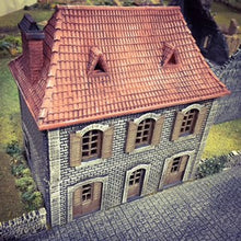 Load image into Gallery viewer, French House Shop - 15mm 28mm 32mm Time Warp Wargaming Terrain Scatter Bolt Action D&D, DnD, Pathfinder, Warhammer, 40k