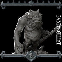 Load image into Gallery viewer, Bandergullet - Wargaming Miniatures Monster Rocket Pig Games D&D, DnD, Pathfinder, SW Legion, Warhammer