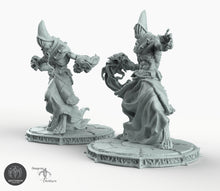 Load image into Gallery viewer, Wraiths - Bestiarum Miniatures Wargaming Tabletop Games D&D DnD Pathfinder SW Legion Warhammer
