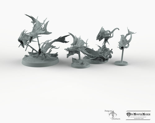 Aboleths - Mini Monster Mayhem Aboleth Version 1 2 Wargaming Miniatures Games D&D DnD Pathfinder SW Legion Warhammer