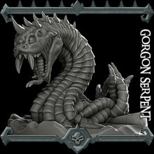 Load image into Gallery viewer, Gorgon Serpent - Wargaming Miniatures Monster Rocket Pig Games D&D, DnD, Pathfinder, SW Legion, Warhammer