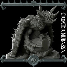 Load image into Gallery viewer, Greater Nubassa - Wargaming Miniatures Monster Rocket Pig Games D&D, DnD, Pathfinder, SW Legion, Warhammer