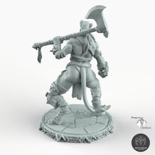 Load image into Gallery viewer, Leonin Female - Bestiarum Miniatures Wargaming D&D DnD Pathfinder SW Legion Warhammer