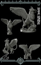 Load image into Gallery viewer, Hawk Sphinx - Wargaming Miniatures Monster Rocket Pig Games D&D, DnD, Pathfinder, SW Legion, Warhammer