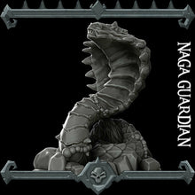 Load image into Gallery viewer, Naga Guardian - Wargaming Miniatures Monster Rocket Pig Games D&D, DnD, Pathfinder, SW Legion, Warhammer