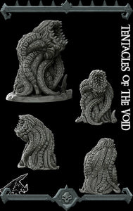 Tentacles of the Void - Wargaming Miniatures Monster Rocket Pig Games D&D, DnD, Pathfinder, SW Legion, Warhammer