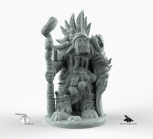 Load image into Gallery viewer, Orc Shaman - Miniatures Monster Rocket Pig Games D&D, DnD, Pathfinder, SW Legion, Warhammer