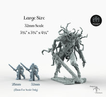 Load image into Gallery viewer, Tentacle Avatar - Bestiarum Miniatures Wargaming Forgotten Realms D&D DnD Pathfinder SW Legion Warhammer