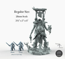 Load image into Gallery viewer, The Gilliot - Bestiarum Miniatures Wargaming D&D DnD Pathfinder SW Legion Warhammer
