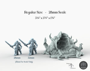 Small Portal - Bestiarum Miniatures Wargaming Tabletop Games D&D DnD Pathfinder SW Legion Warhammer