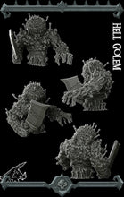 Load image into Gallery viewer, Hell Golem - Wargaming Miniatures Monster Rocket Pig Games D&D DnD Pathfinder SW Legion Warhammer