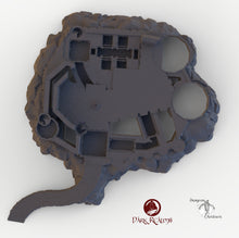 Load image into Gallery viewer, Dracul Castle Base - 15mm 28mm 32mm Dracula Dark Realms Medieval Scenery Dungeon Wargaming Terrain Scatter D&D DnD Pathfinder Warhammer 40k