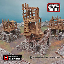 Load image into Gallery viewer, Rickety Lodgings - Shadowfey Wilds 15mm 28mm 32mm Wargaming Terrain D&D, DnD Pathfinder SW Legion Warhammer 40k