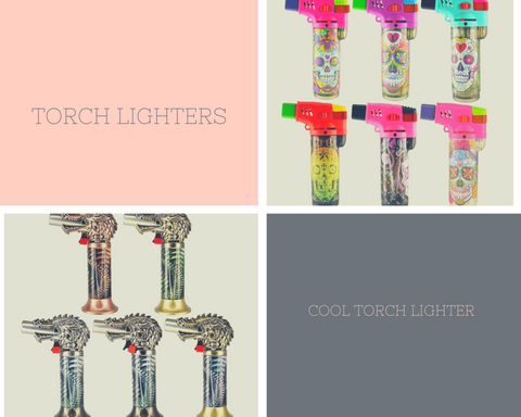 types of torch lighters