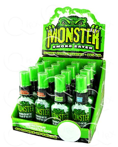 Smokezilla Monster Smoke Eater - 16 Unit Display Smoke/Vape Shop Quikfillrx