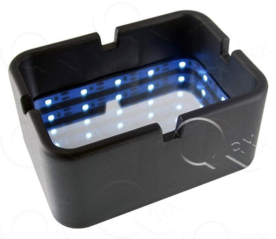 Light Tunnel Ashtray - 6 Unit Display Smoke/Vape Shop Quikfillrx