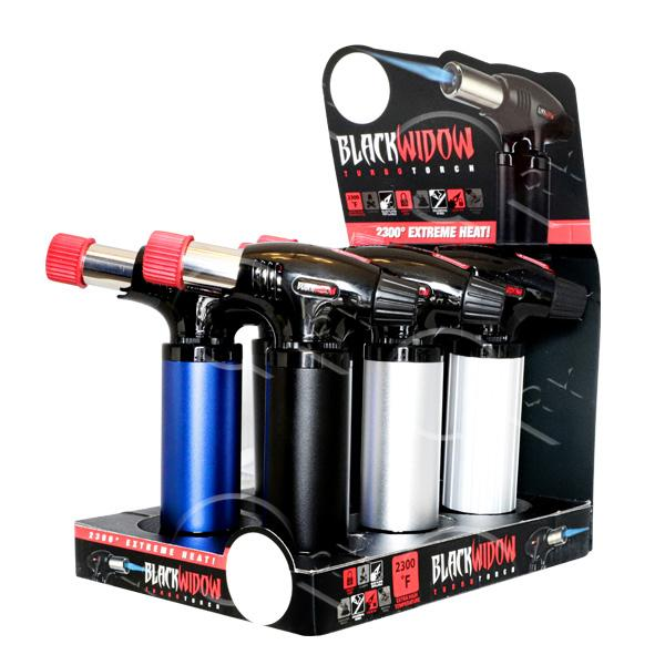 Black Widow Turbo Torch Black